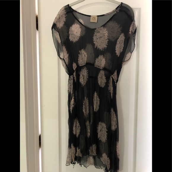 shopping uk cheap sale beauty Attic & Barn (made it Italy) Dress. 100% silk.